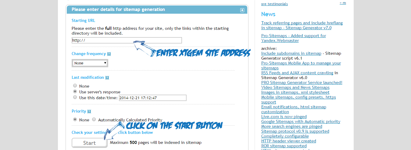 how to add your xtgem wapsite to google search engine kswap1